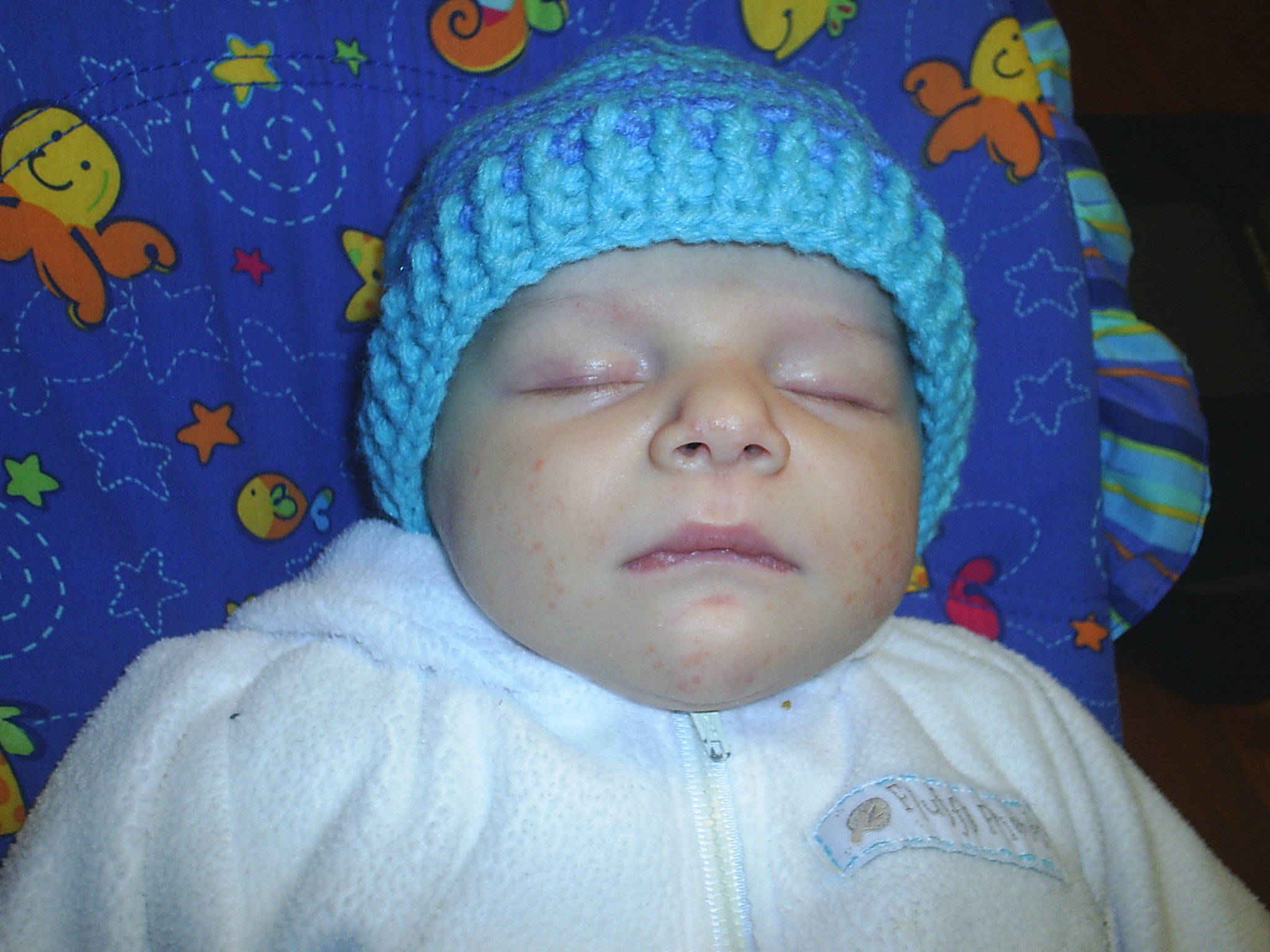 Crochet Baby Beanie Pattern Easy : Baby Hat Crochet Pattern - Modern Homemakers