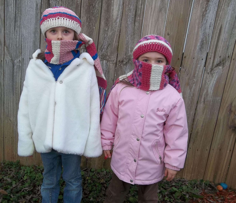 Crochet Pattern For Childs Hat Scarf Modern Homemakers