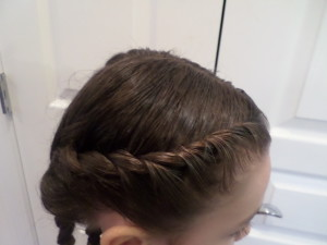 2 french braids