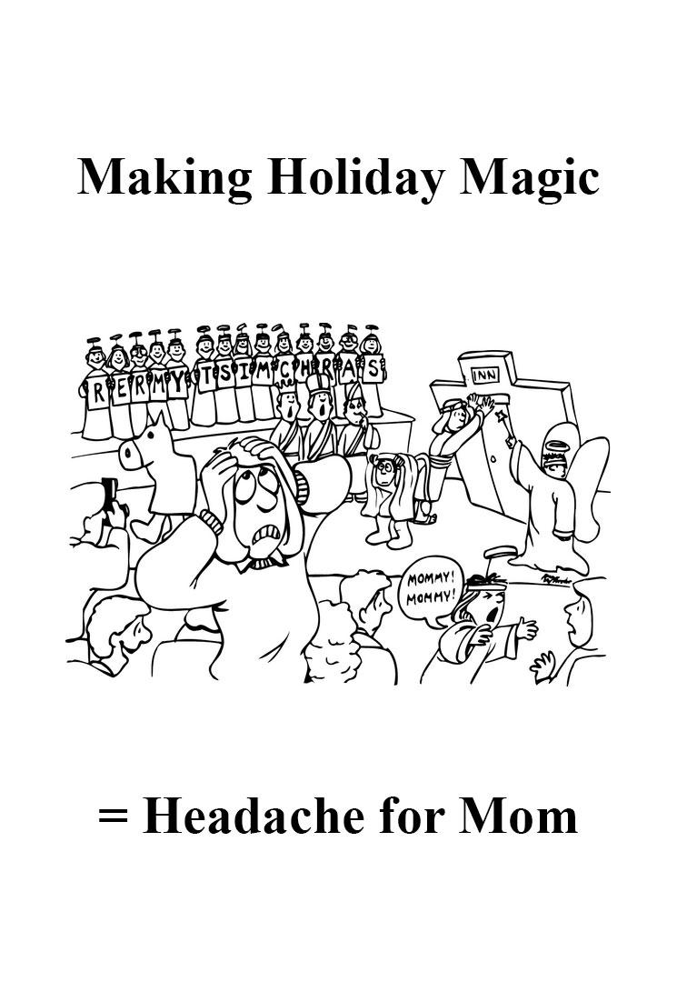modern homemakers christmas newsletter