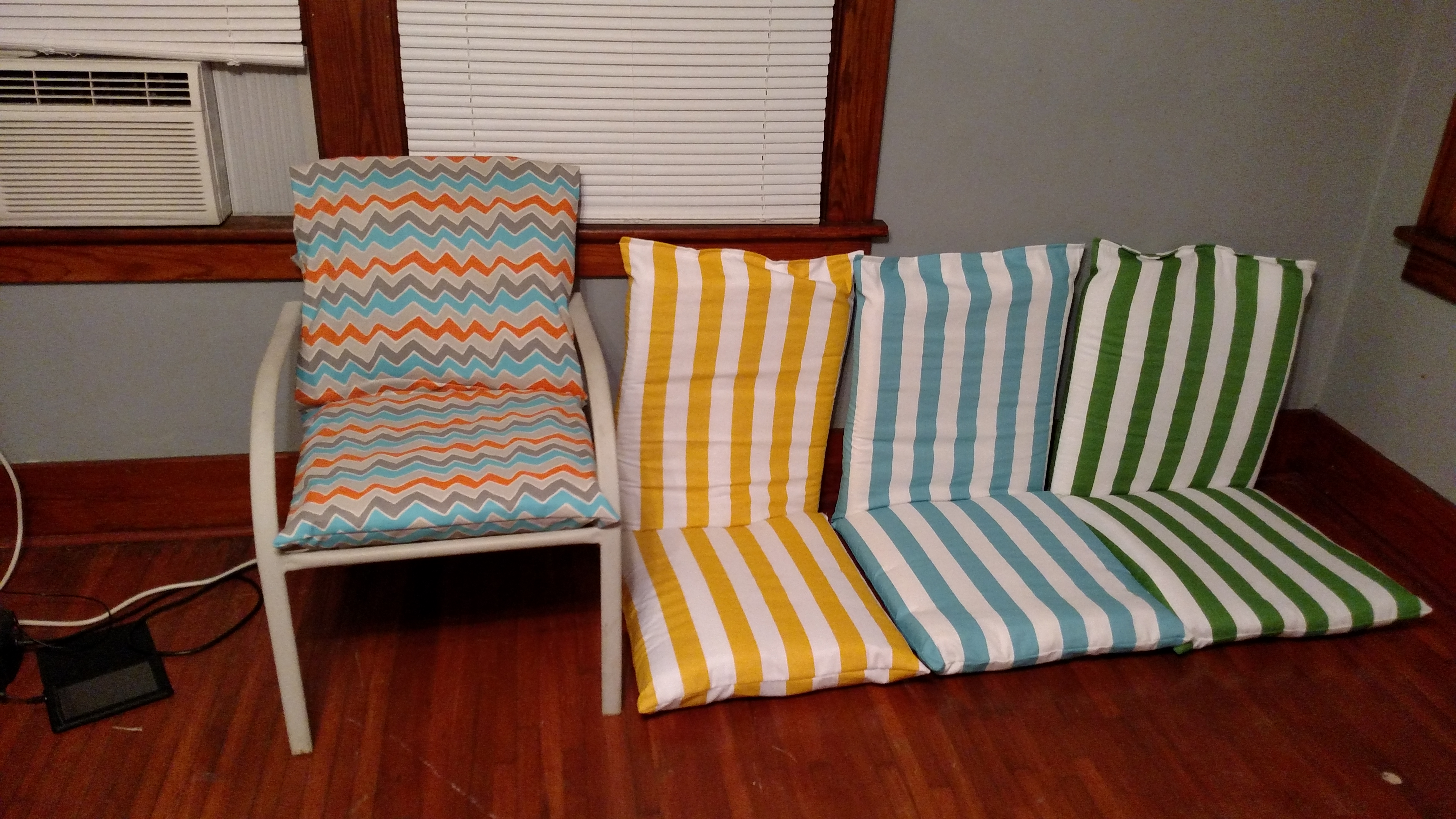 DIY Outdoor Cushions - Modern Homemakers