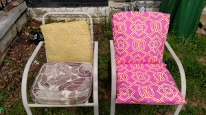 outdoor seat cushions, free sewing tutorials
