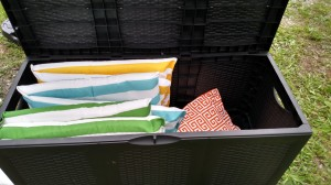 diy outdoor swing cushions