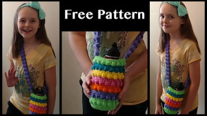 free crochet purse patterns for water bottles or whatever you want, joquena lomelino