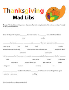 thanksgiving writing activities, thanksgiving printables