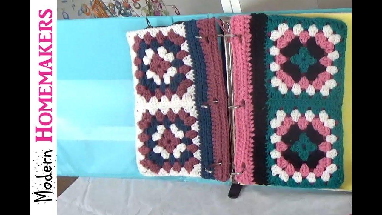 free crochet pattern for back to school pencil case pattern, diy school supplies, modern homemakers